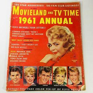 VTG Movieland and TV Time June 1961 Annual Sandra Dee, Rick Nelson, Fabian