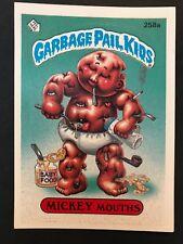 Garbage Pail Kids GPK Original Series 7 #258a Mickey Mouths MINT