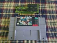 BASS Masters Classic (Super Nintendo Entertainment System, 1995) SNES - Cart!