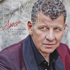 SEMINO ROSSI - AMOR-DIE SCHÖNSTEN LIEBESLIEDER ALLER ZEITEN  CD NEW+