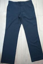 Regular Size Flat Front Trousers NEXT for Men
