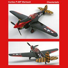 Corgi Curtiss P-40F Warhawk USAAF 325th FG Checkertails Stud Robert Baseler LTD
