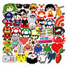 50 Mosaic Stickers bomb Vinyl Skateboard Luggage Laptop Decals Dope Sticker Lot
