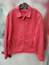 Vintage Polo Ralph Lauren Pink Harrington Bomber Coaches Jacket sz xl
