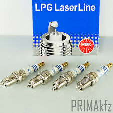 4x NGK LPG 1 Laserline Zündkerzen 1496 LPG / CNG Fahrzeuge Audi BMW Mercedes