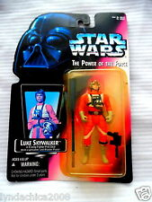 Kenner Star Wars The Power of the Force Luke Skywalker Action Figure 1995 MINT