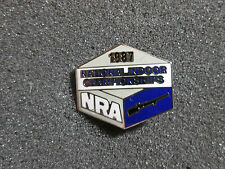 1987 NRA National Indoor Championships Rifle  Pin