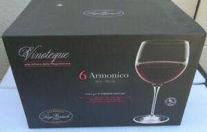 Luigi Bormioli Vinoteque Armonico 18.5 oz Wine Glasses, Set of 6