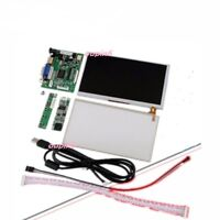 """HDMI VGA 2AV LCD Controller kit + 7"""" Vehicle display AT070TN92 panel with touch"""