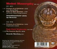 PICTURES AT AN EXHIBITION-  MUSSORGSKY,MODEST PETER  2 CD NEW+