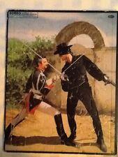 1957 Walt Disney Zorro Jigsaw Puzzle + 1959 A.B.C Broken Arrow