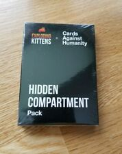 Cards Against Humanity Exploding Kittens Hidden Compartment Pack 100% Authentic