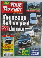 TOUT TERRAIN N° 100 /LAND ROVER 130/ SUBARU FORESTER/ MUSSO/ RAV4/ SPORTAGE/ CRV