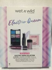 WET N WILD Limited Edition ELECTRIC QUEEN Set PALETTE/HIGHLIGHT/LIPGLOSS