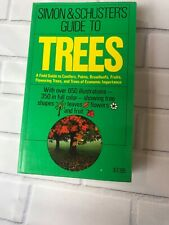 Simon & Schuster's Guide to TREES Field Guide Conifer Broadleaf Palm Fruits book