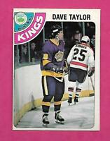 1978-79 OPC # 353 KINGS DAVE TAYLOR  ROOKIE EX-MT CARD (INV# C3518)