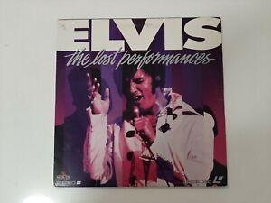 Vintage Laser Disc - Elvis The Best Performances