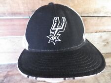 San Antonio SPURS Basketball Reebok Fitted Size 7 5/8 Adult Cap Hat