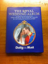 Royal Wedding Album Kate & William Daily Mail great christmas gift free uk p&p
