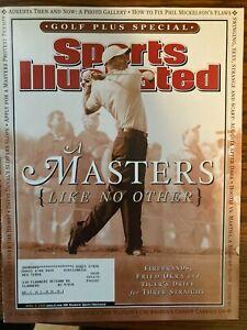 Sports Illustrated April 8, 2003 - Tiger Woods