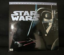 LASERDISC - STAR WARS A NEW HOPE - WIDE SCREEN EDITION