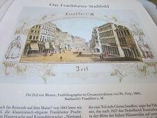 Frankfurt Archiv A 2 Stadtbild 1071 Zeil von Westen 1860 Ph Frey