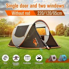 2-3 Person Camping Tent Double layer Waterproof Automatic Pop-Up Family Shelter
