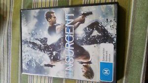 Insurgent: The Divergent Series DVD Region 4 VERY GOOD CONDITION