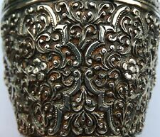 More details for spectacular quality antique indo chinese solid silver vase; possibly khmer