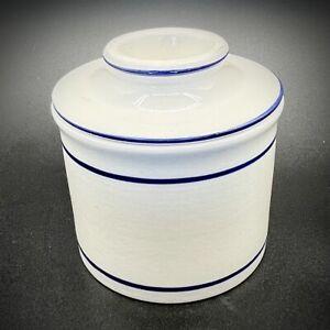 Butter Dish Crock Norpro French Bell Porcelain Keeper Ceramic Storage Glazed