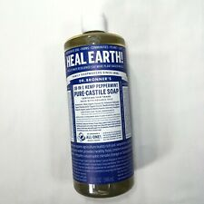 Dr. Bronner's 18 in 1 Hemp Peppermint Pure Organic Castile Oil Soap 32 OZ NEW