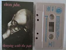 ELTON JOHN SLEEPING WITH THE PAST AUSTRALIAN RELEASE CASSETTE TAPE (Grey)