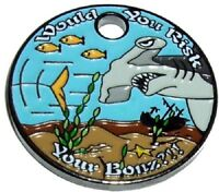 RISK YOUR BONES - PATHTAG GEOCOIN - NEW - W/GLOW