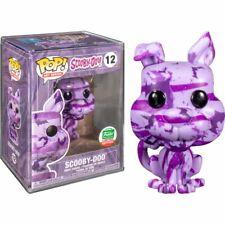 Scooby-doo Pop Vinyl 12 Art Series Funko Shop W/ Hardstack Xmas 665