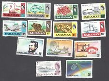 BAHAMAS - THIRTEEN DIFFERENT MIXED STAMPS