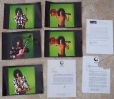 Slash Guns & Roses RARE Original Guitar World Test Photos & Approval Letters