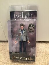 NECA Twilight Edward Doll & Cullen Crest New & Sealed