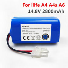 2800mAh 14.8V Robot Vacuum Cleaner Battery Replacement for Chuwi ILIFE A4S A4-A6