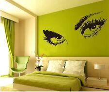 DIY Mural Audrey Hepburn Eyes Wall Sticker Decals Home Decor Art Vinyl UKWS