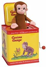 Curious George Jack in the Box, New, Free Shipping