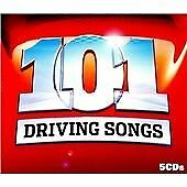 Various Artists : 101 Driving Songs (5CDs) (2008)