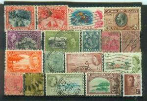 Lot Briefmarken aus der britischen Karibik