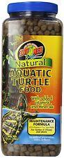 ZOO MED NATURAL AQUATIC TURTLE FOOD MAINTENANCE FORMULA 12OZ best prices on ebay