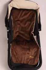 New Baby Girl Boy Stroller Liner Brown Plush Pad Fits all Bugaboo Fox Bee Gift