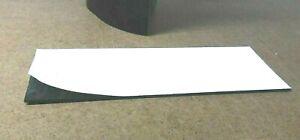 "Neoprene Rubber Solid Sheet w/ Peel-Back Adhesive 1/16"" Thk x 6"" x 12"" Pad"