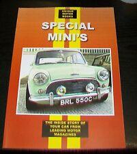SPECIALE Mini's road test & magazine articolo ristampe. COX Cooper OGLE BROADSPEED