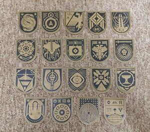 DESTINY 2 Seal Signs. All 22 available. 3Dprinted. Perfect gift|Save on Multibuy
