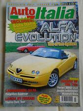 Auto Italia 35 Alfa Romeo Spider, Lancia Thema 8.32, Lamborghini Jalpa