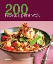 200 recetas para wok (Spanish Edition)-ExLibrary
