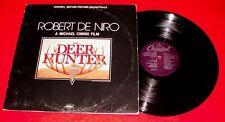 Ex- 1979 Capitol soundtrack The Deer Hunter lp Robert DeNiro